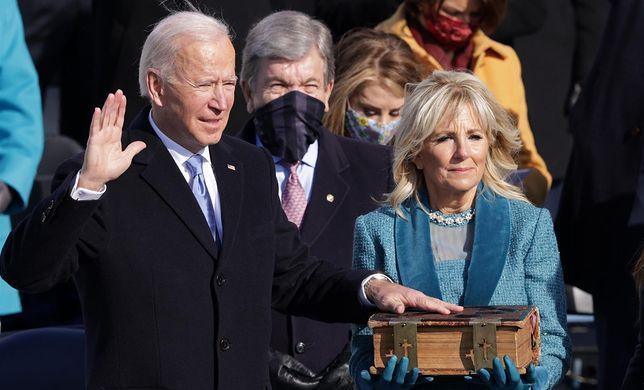Zaprzysiężenie Joe Bidena. 46. prezydent USA złożył przysięgę