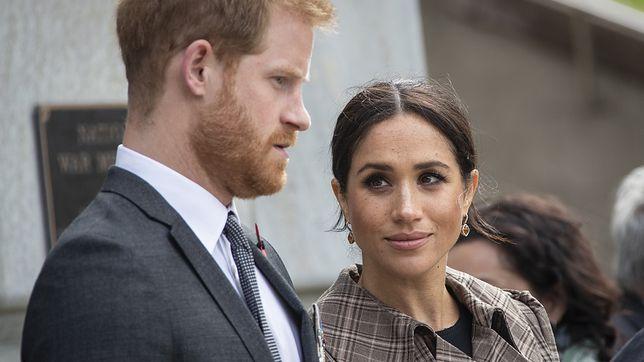 Meghan i Harry wzbudzają wielkie emocje w mediach i nie tylko