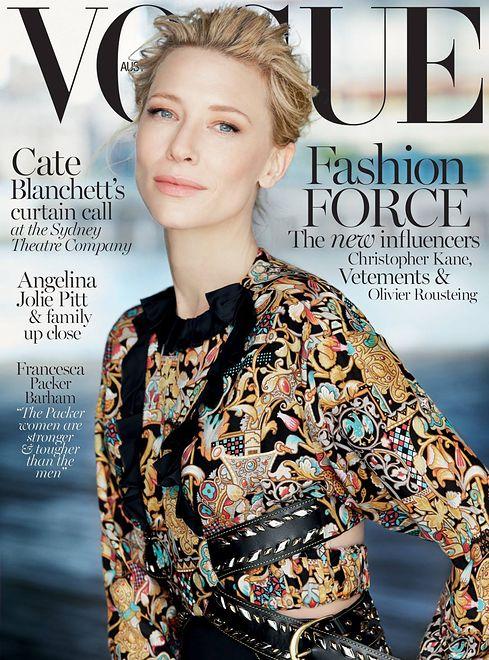 Cate Blanchett w Vogue Australia Grudzień 2015