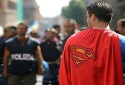 Superman na kozetce