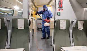 Koronawirus w Polsce. Sanepid szuka pasażerów Pendolino
