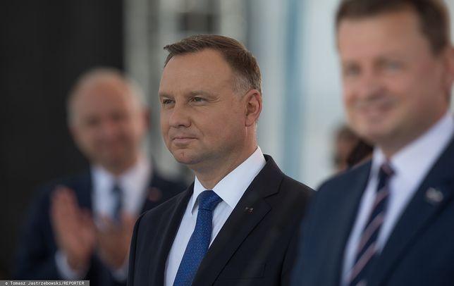 Prezydent Andrzej Duda miał wypadek na skuterze wodnym (zdj. arch.)