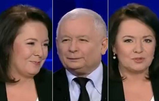 Wywiad Kaczyńskiego w TVP to prawdziwy hit. Zobacz, jak cieszyła się prowadząca