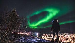 Na Islandii zorzę polarną można obserwować od końca września do marca