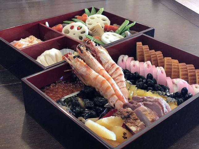Noworoczne potrawy w Japonii - osechi ryori