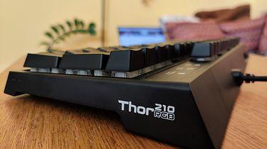 Genesis Thor 210 RGB - hybrydowa klawiatura mechaniczna z podświetleniem RGB
