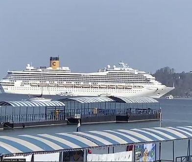 Statek Costa Fortuna z zakazem wpłynięcia. Na pokładzie ok. 100 Polaków. Nowe informacje