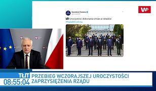 Jarosław Kaczyński i Jarosław Gowin podziębieni. Winna uroczystość w Pałacu?