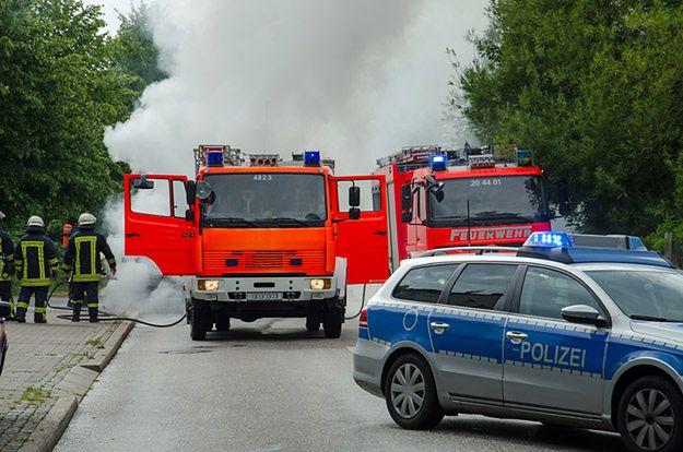 Spłonął kolejny ośrodek dla uchodźców w Niemczech