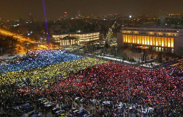 Dziesiątki tysięcy ludzi w 13. dniu antyrządowych protestów w Rumunii