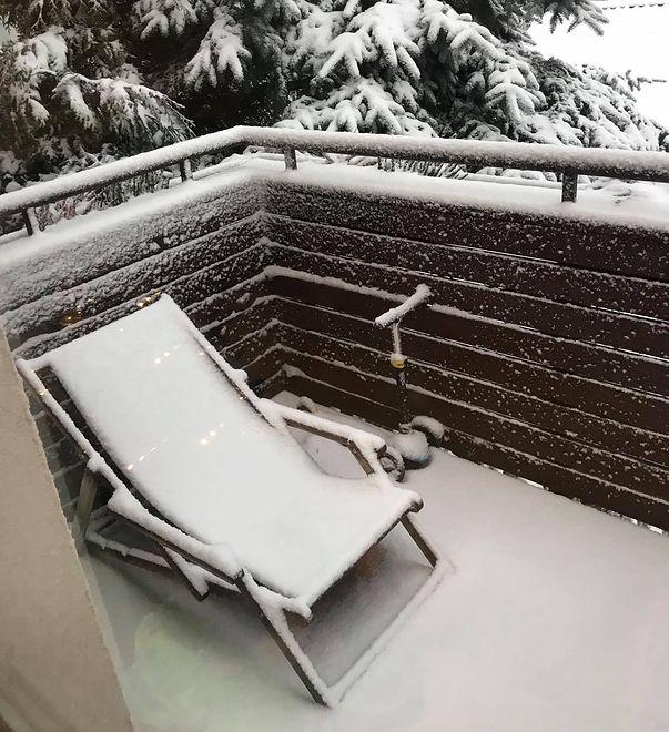 Prawdziwa zima na Wiczlinie w Gdyni