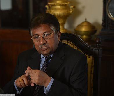 Były prezydent Pakistanu Pervez Musharraf  skazany na karę śmierci