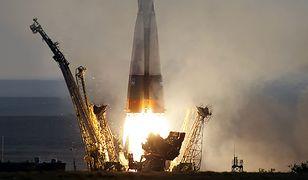 Start statku kosmicznego Sojuz MS-01