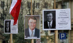 demonstracja w obronie Jana Kobylańskiego