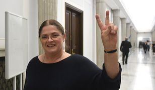 Krystyna Pawłowicz zapewnia, że nie używa wulgaryzmów