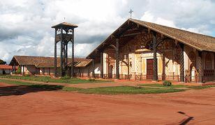 Kościół misyjny w prowincji Ñuflo de Chávez.