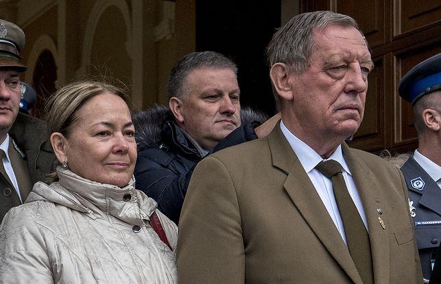 Jan Szyszko z żoną Krystyną