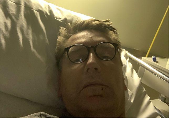 Tomasz Lis w szpitalu. Złożył życzenia świąteczne sympatykom