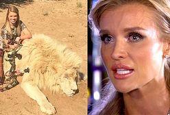 Joanna Krupa groziła cheerleaderce, która poluje na zwierzęta?