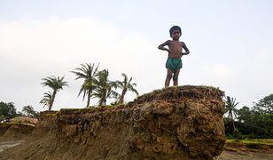Wyspa Ghoramara obecnie liczy cztery kilometry kwadratowe