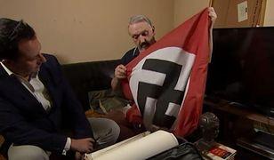 Lider neonazistów wycofał się. Przyznał, że jest gejem z żydowskimi korzeniami
