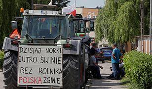 Protest rolników w Warszawie. Manifestujący przejdą pod budynek Kancelarii Premiera