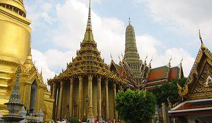 Kompleks terenów świątynnych Wat Phra Kaew (Świątyni Szmaragdowego Buddy)
