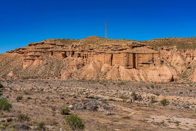 Na zdjęciu hiszpańska pustynia Tabernas