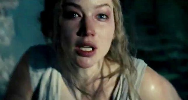 "Jennifer Lawrence w filmie ""Mother!"""