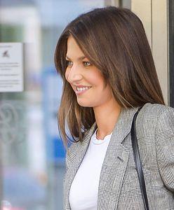 Anna Lewandowska w białej koszulce. Zapłaciła za nią krocie