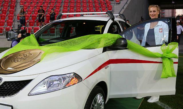 Lancia Ypsilon prezentem dla medalistki z Rio