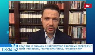 Szczepienia na COVID. Strażnicy miejscy w 1. grupie? Rafał Trzaskowski o wniosku MSWiA