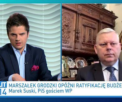 Jan Maria Jackowski wykluczony z klubu PiS? Marek Suski odpowiada
