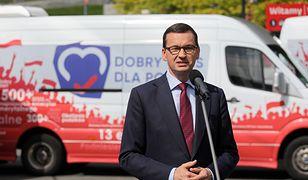 Mateusz Morawiecki zapowiedział, że przyjmie dymisję, do której podał się wiceminister sprawiedliwości Łukasz Piebiak