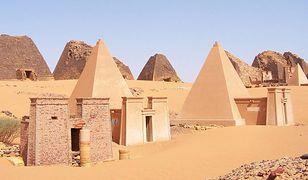 Piramidy w Meroe inspirowanie są kulturą egipską