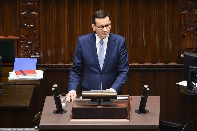 Premier Mateusz Morawiecki odniósł się do pytań posłów