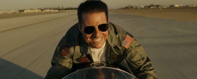 "Tom Cruise powrócił do roli ""Mavericka"" po ponad 30 latach"