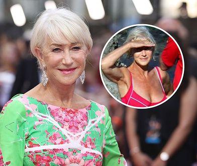Helen Mirren przyłapana w bikini. 74-latka opowiedziała historię zdjęcia sprzed dekady