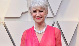 Oscary 2019: 73-letnia Helen Mirren w zachwycającej sukni. Postawiła na róż
