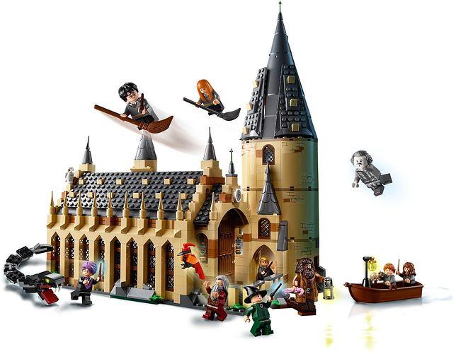 """Lego Harry Potter """"Wielka Sala w Hogwarcie"""" w wersji """"zrób to sam"""""""