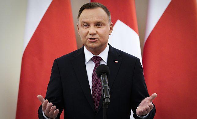 """Duda w Nowym Jorku. """"Nord Stream 2 powinien być powodem do refleksji"""""""