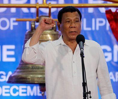 Rodrigo Duterte znany jest jako mizoginista