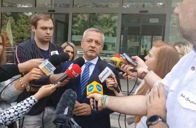 Konferencja ministra cyfryzacji w sprawie aplikacji FaceApp.