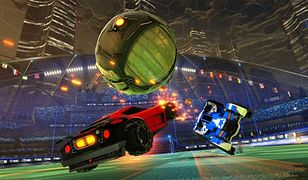 """Screen z gry """"Rocket League"""""""