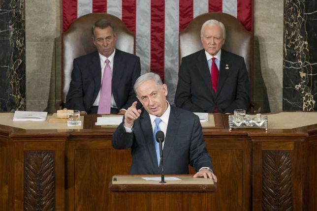 """""""FT"""": premier Izraela w Kongresie bezczelnie ingerował w politykę USA"""