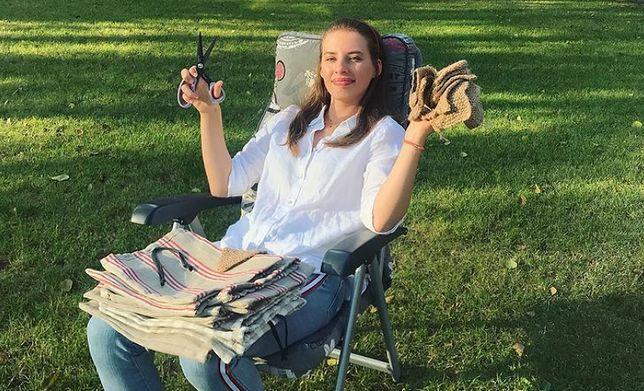 Marta Konopko stworzyła firmę Wielorazówka