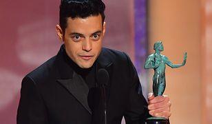 Rami Malek otrzymał nagrodę dla najlepszego aktora za pierwszoplanową rolę męską
