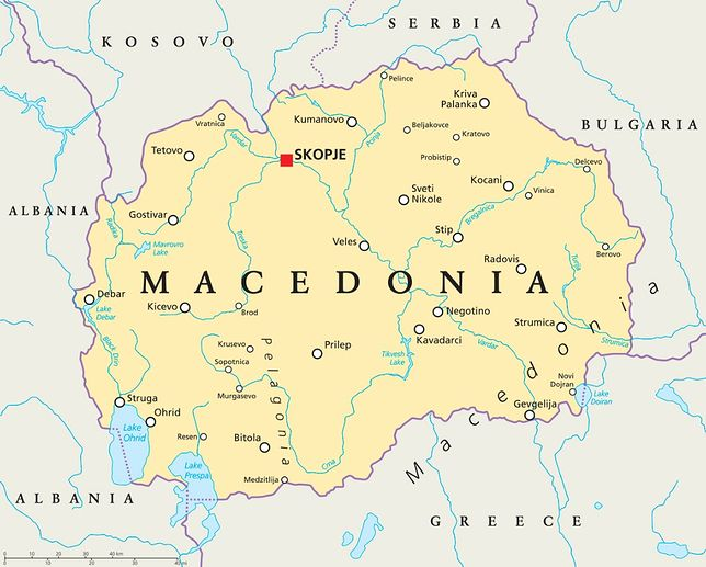 Zmiana nazwy Macedonii wstrzymana. Prezydent nie podpisze ustawy