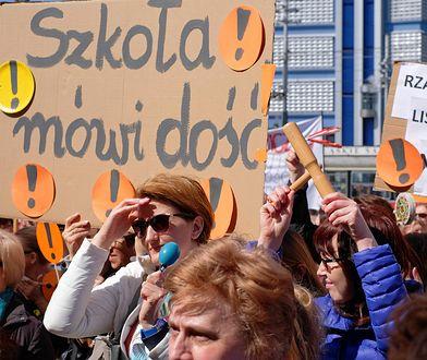 Manifestacje nauczycieli odbędą się w dużych miastach