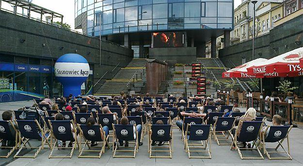 Plenerowe kino letnie w Sosnowcu. Za darmo
